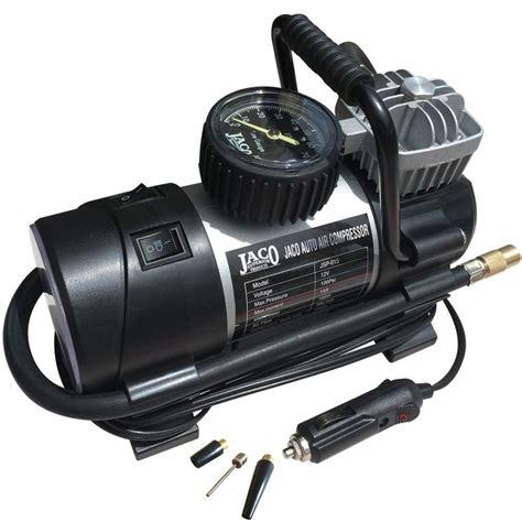 jaco roadpro tire inflator portable air compressor 100 psi ebay