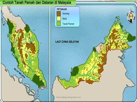 Air 2 Di Malaysia geografi tingkatan 1 bentuk mukabumi tanah pamah