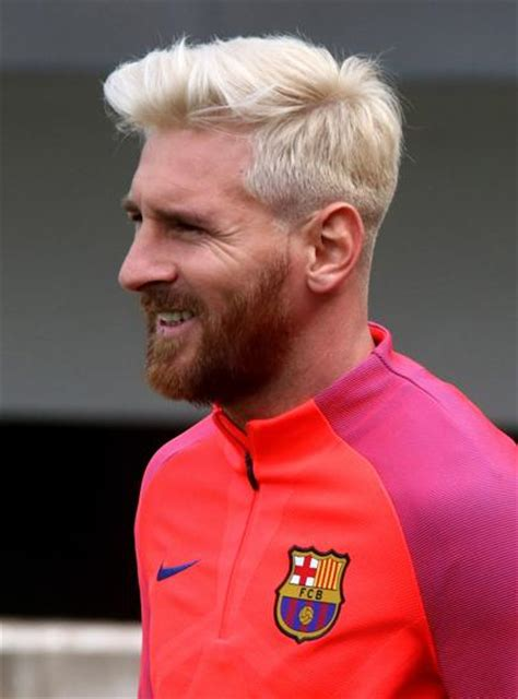 Messi New Hairstyle by Leo Messi New Haircut Pictures With Hairstyle Look