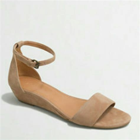 69 j crew shoes j crew factory suede demi wedge