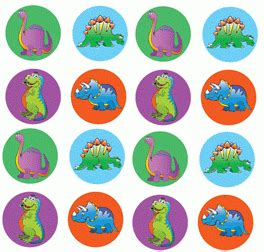 printable dinosaur stickers best selection of mini chart stickers found here