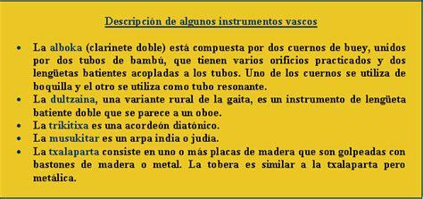 musicale vasco instrumentos musicales vascos
