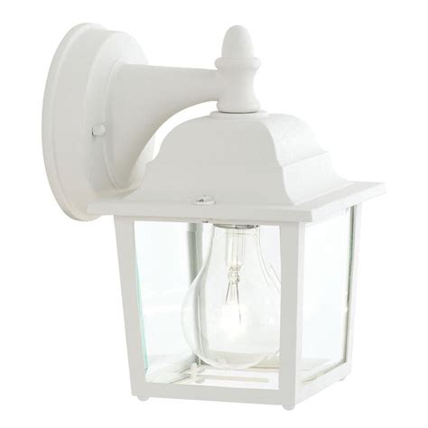 Philips Outdoor Lighting Catalogue Philips Outdoor Essentials 1 Light Matte White Outdoor