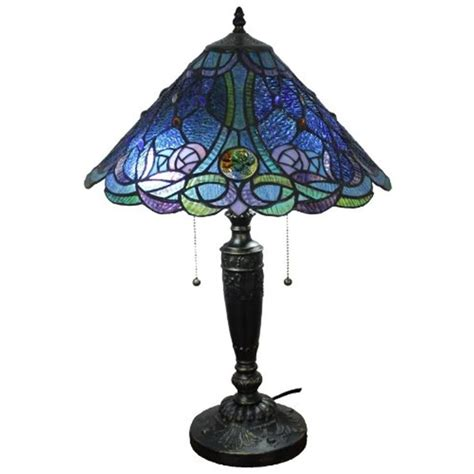 Blue Amora amora lighting 24 in style and blue table l
