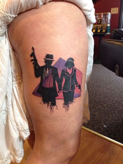 bonnie and clyde tattoos ideas bonnie and clyde tattoos by drayton fraley