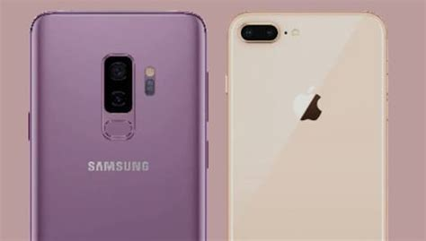 samsung galaxy s9 plus vs iphone 8 plus which plus version is better
