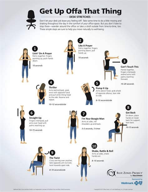 Exercise At Desk by Wellness For Chiropractic Desk Stretches 2015