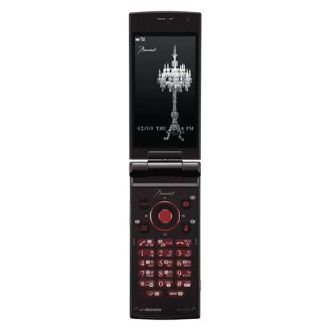 sharp mobile phone crystallized mobile devices sharp baccarat phone