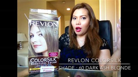 dark hair after 70 revlon colorsilk hair color youtube