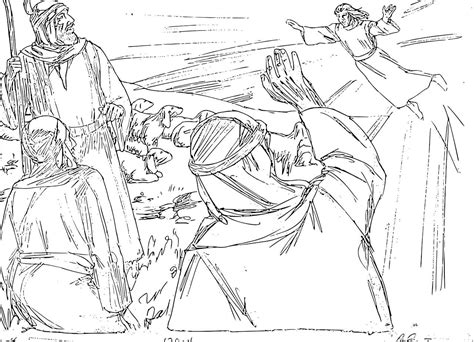 angels visit shepherds coloring page free coloring pages of angel and shepherd