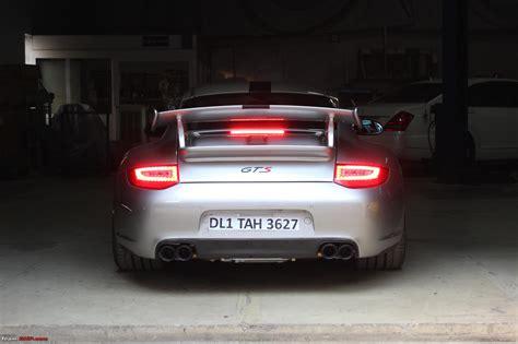 porsche 911 carrera gts spoiler porsche 911 carrera 4 gts in india team bhp
