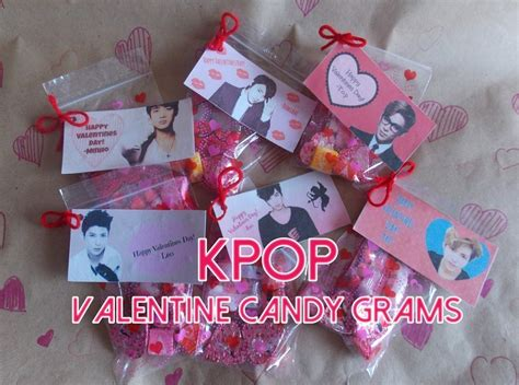 valentines day gram k pop s day grams 183 how to make a paper