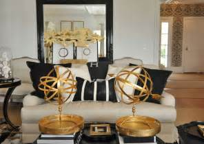 Black And Gold Room Decor The Together Project Living Dining Area