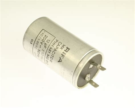 12uf run capacitor phh481mg812 rifa capacitor 12uf 250v application motor run 2020071791