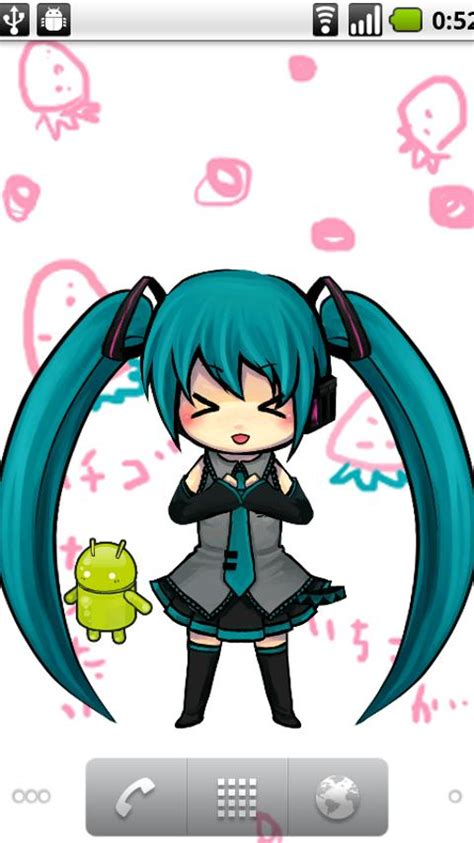 miku home apk hatsune miku clock widget weather teamerogon
