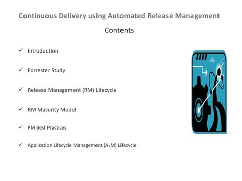 manage assets for the delivery of a release continuous delivery using release management automation