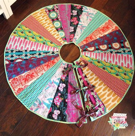 free quilt pattern christmas tree skirt