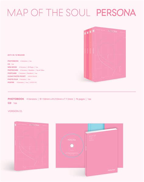 bts map   soul persona cdfull package poster big
