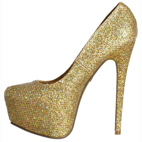 high heels gold shoes gold glitter high heel boots gold sandals heels