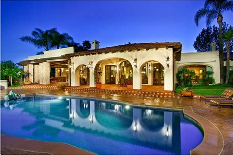 French Style Floor Plans by Covenant Rancho Santa Fe Homes Beach Cities Real Estate
