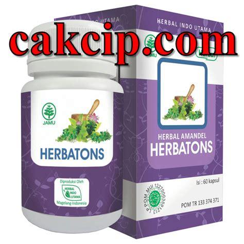 Obat Amandel Herbal Hpai herbatons untuk amandel surabaya agen jual asli