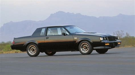 1987 buick regal grand national 1987 buick grand nationals parked for years