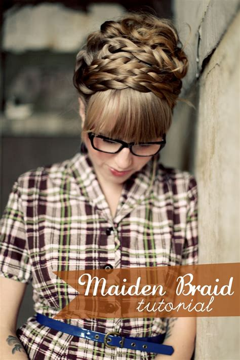 steps for long braids to be put in a bun how to style maiden braids a beautiful mess