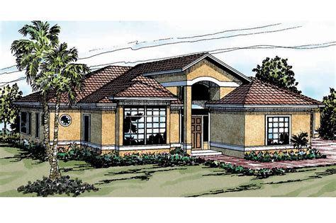 mediterranean homes plans mediterranean house plans odessa 11 021 associated designs