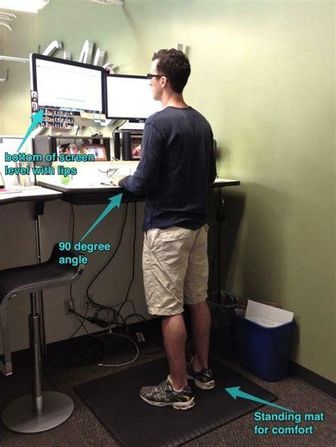 ergonomic benefits of standing desk 71 best images about standing desk on pinterest office