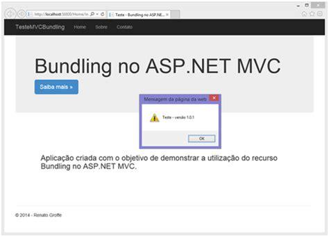 asp net mvc section bundling no asp net mvc simplificando a manipula 231 227 o de