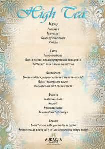 afternoon tea menu template high tea menu delicious buffet style