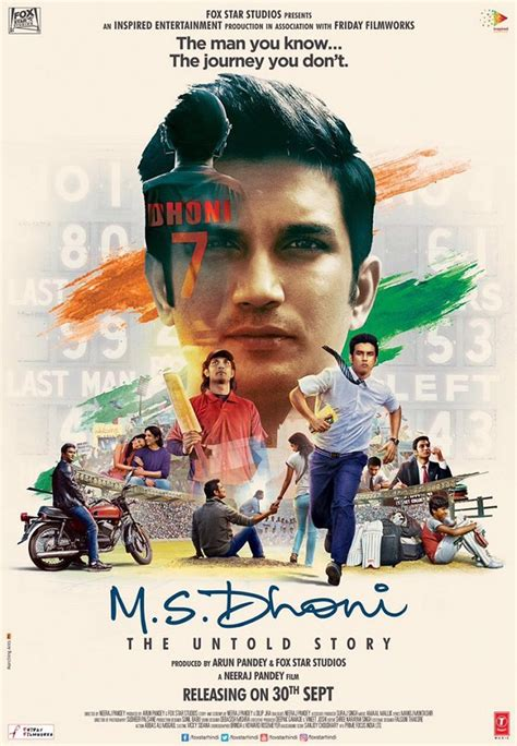 film mandarin untold story ms dhoni the untold story first poster the many faces