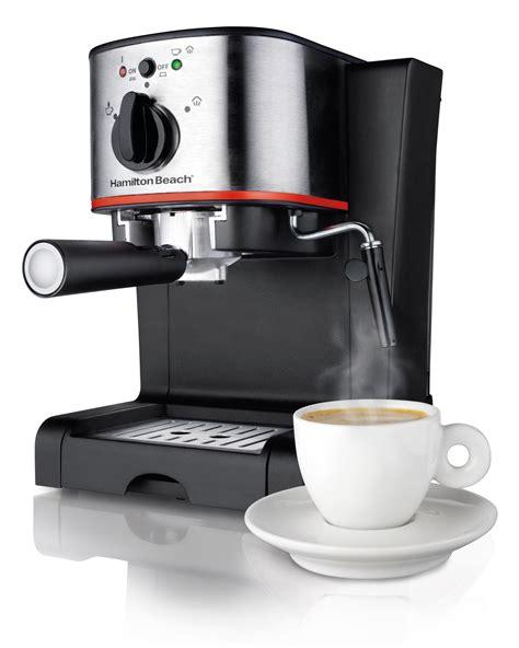 best espresso coffee maker hamilton beach 40792 espresso cappuccino