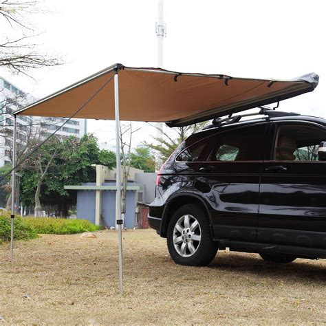 Car Roof Awning by Car Side Awning Roof Top Tent 2m X 2 5m Cer Trailer
