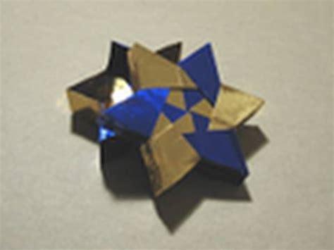 Robin Glynn Origami - modular 6 pointed origami box by robin glynn