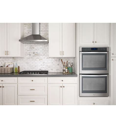 wall range wvw53uc0fs whirlpool 174 30 quot contemporary stainless steel