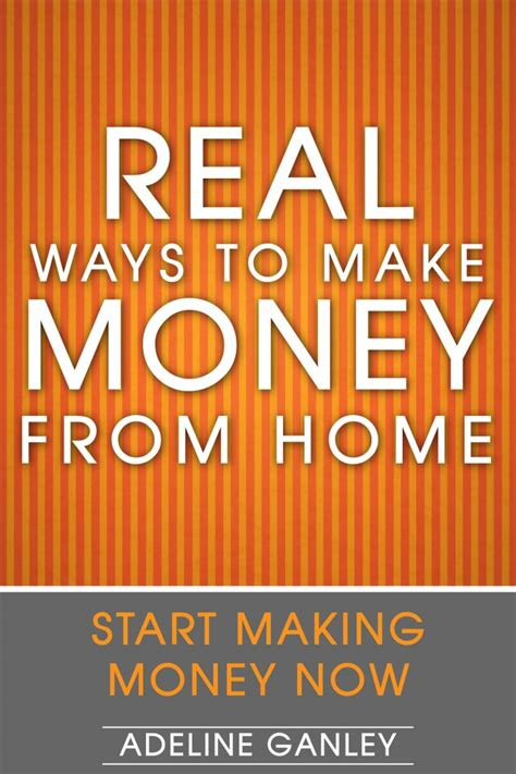 real ways to make money from home ebook