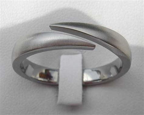 unique titanium wedding ring love2have in the uk