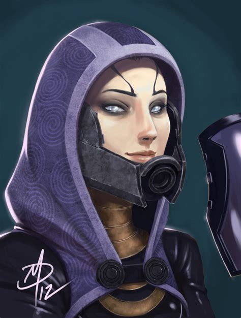 Masker Tali tali zorah vas normandy by polarityplus on deviantart