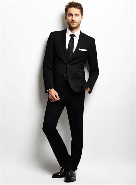 black tie black suit dress yy