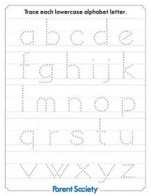 Alphabet letters learning to write christmas