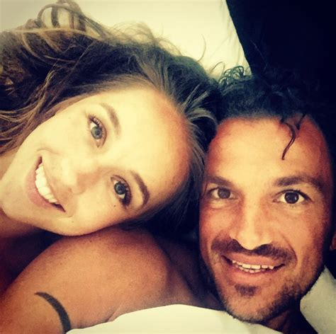 Peter Andre Posts Naked Bedroom Selfies With His Fiancee Emily Shemazing