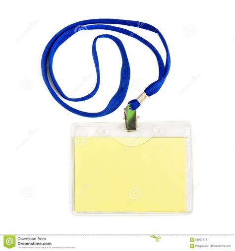 id card rope design name id card badge stock photo image 58957479