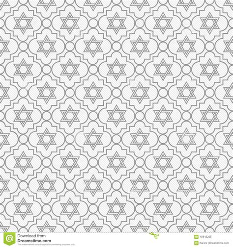 pattern gray white gray and white star of david repeat pattern background