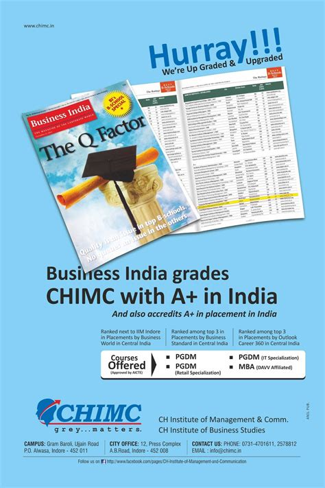 Chimc Mba College Indore by Chimc College