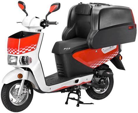 Motorrad 50ccm Ratenzahlung by Luxxon Transportroller Ohne Transportbox 50 Ccm 45 Km H