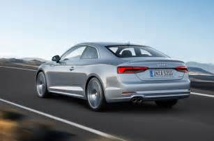 Audi A5 Pics 2017 Audi A5 Coupe And S5 Revealed Autocar