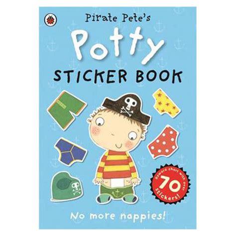 pirate petes potty sticker activity book toilet training boys
