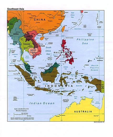 southeast asia map map of southeast asia region maps of asia regional