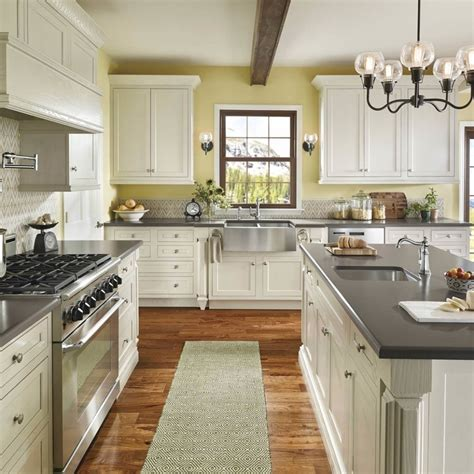 Kitchen Colors With White Cabinets by Kitchen Color Schemes With White Cabinets Home Combo